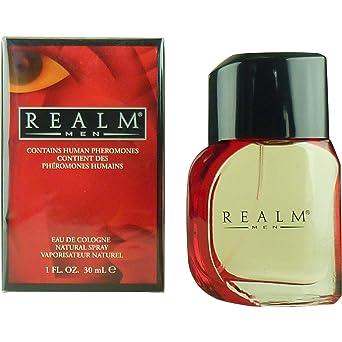 Realm Eau de Colonia Spray para Hombre, 1 oz