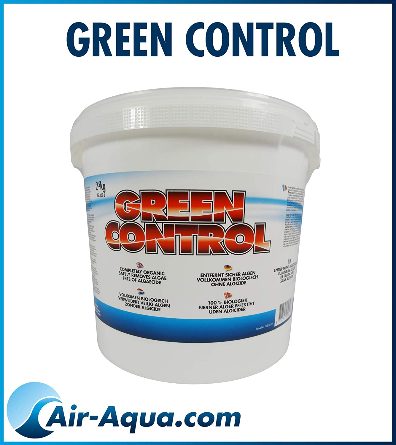BT + Green Thread Algae Control Medium No Algizide 2.5 kg Air Aqua
