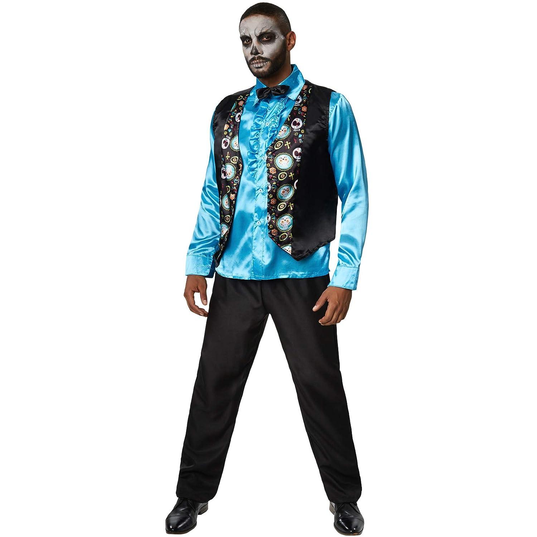 dressforfun 900420 - Disfraz de Hombre Caballero Espeluznante ...
