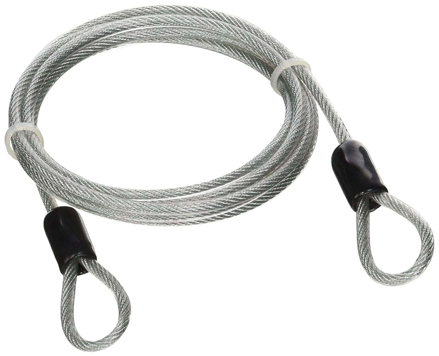 Amazon.com: Lumintrail 4 Foot 3mm Braided Steel Coated Security ...