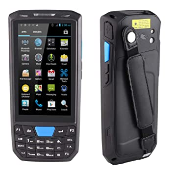 Amazon.com: BQ-80 Android Rugged Handheld Terminal 4G BT ...