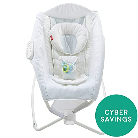 Buy Fisher Price Deluxe Newborn Rock N Play Sleeper Cloud Online At