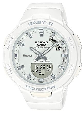 6b166c9e7f Amazon | [カシオ]CASIO 腕時計 BABY-G ベビージー G-SQUAD BSA-B100 ...
