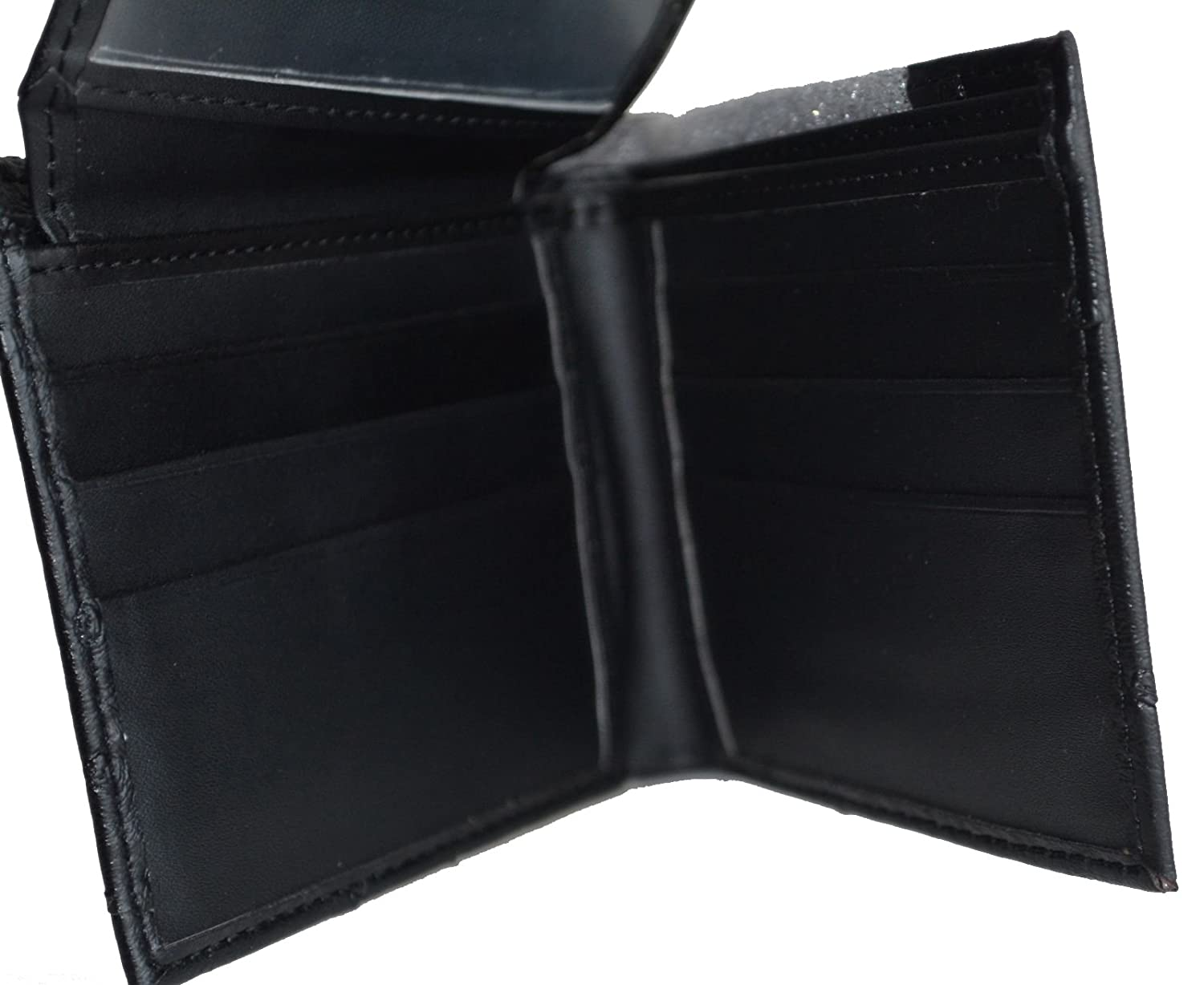 1836b74df776 Men Western Black Cowboy Rodeo Texas Star Patent Leather Tooled Wallet