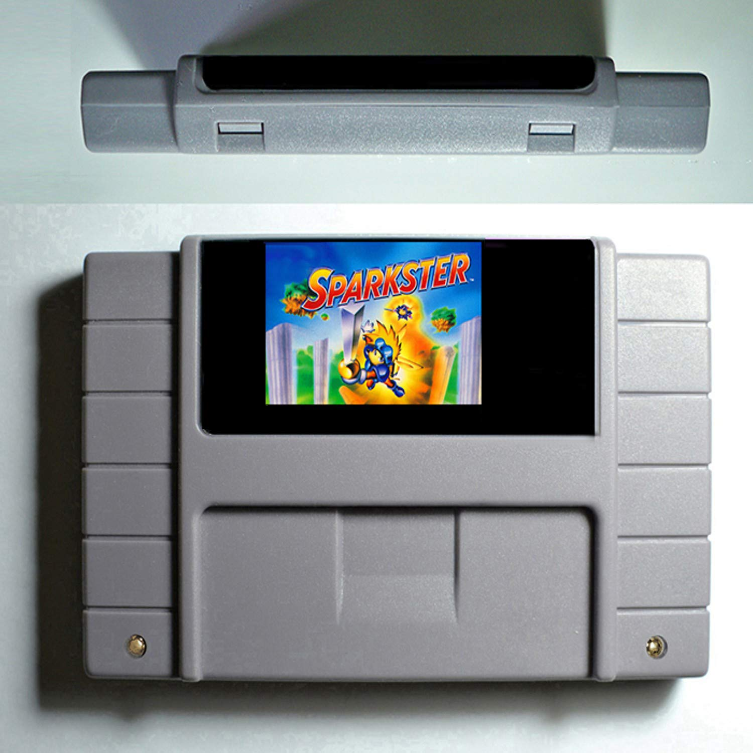 Sparkster Good Quality 16 Bit Big Gray Game Card For NTSC Game Player