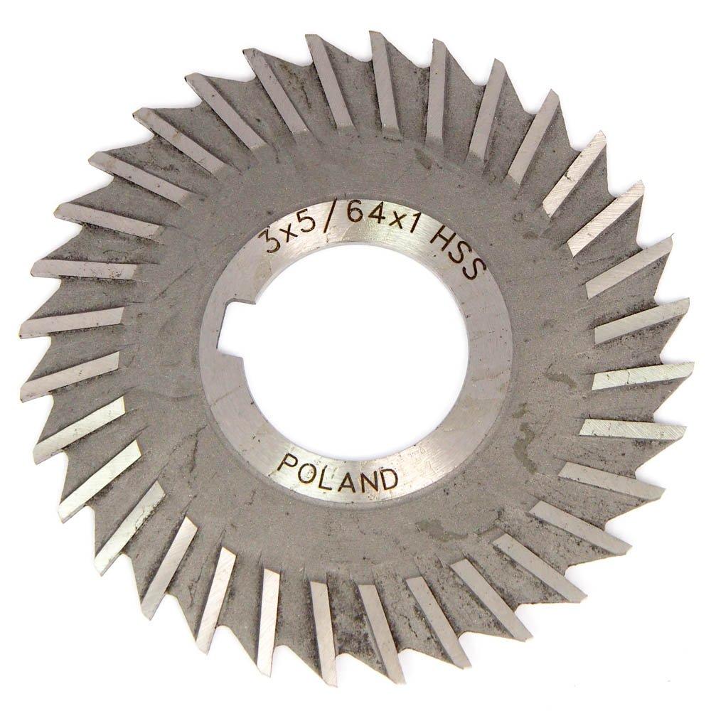 DOLFA Straight Side Chip Saw 3'' x 5/64'' x 1'' Arbor HSS 32T 5-748-254