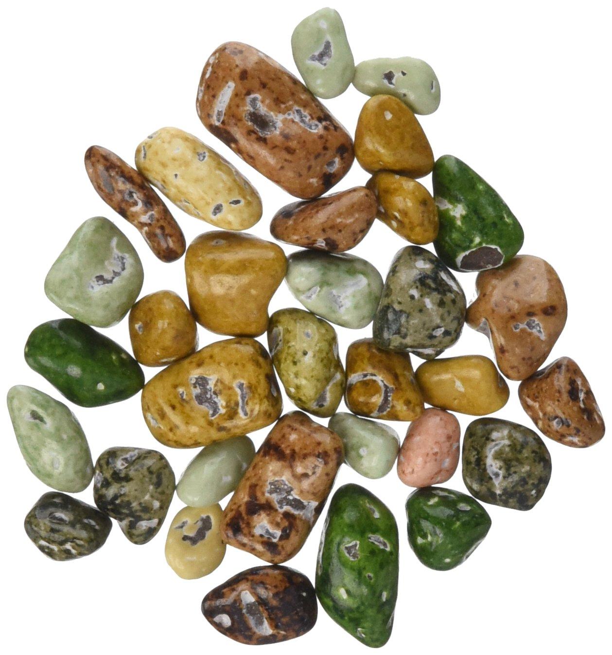 Amazon.com : Chocolate River Stones (1lb Bag) : Chocolate ...