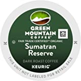 Green Mountain Fair Trade Organic Sumatran Reserve Extra Bold 4 Boxes of 24 K-Cups