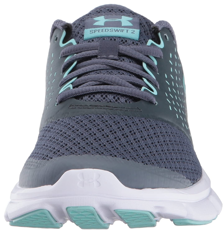 Under Armour UA W Micro G Speed Swift 2, Chaussures de Running Femme, Bleu (Bayou Blue), 38 EU