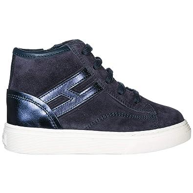3c7be6788f565 Hogan H365 Basket Montante Enfant blu 23 EU  Amazon.fr  Chaussures ...