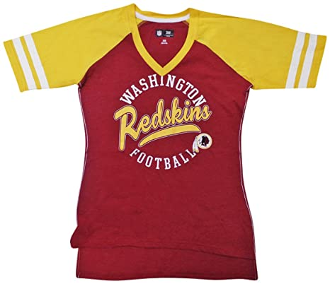 huge selection of 8e868 f1776 Washington Redskins Women's V-Neck Fastball T-shirt