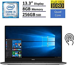 "Dell XPS 13 9360 13.3"" Full HD Anti-Glare InfinityEdge Touchscreen Laptop i5-8250U 8GB RAM 256GB SSD"