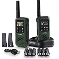 $69 » Walkie Talkies - COTRE Two Way Radios for Outdoors, Up to 32 Miles Talk Range USB…
