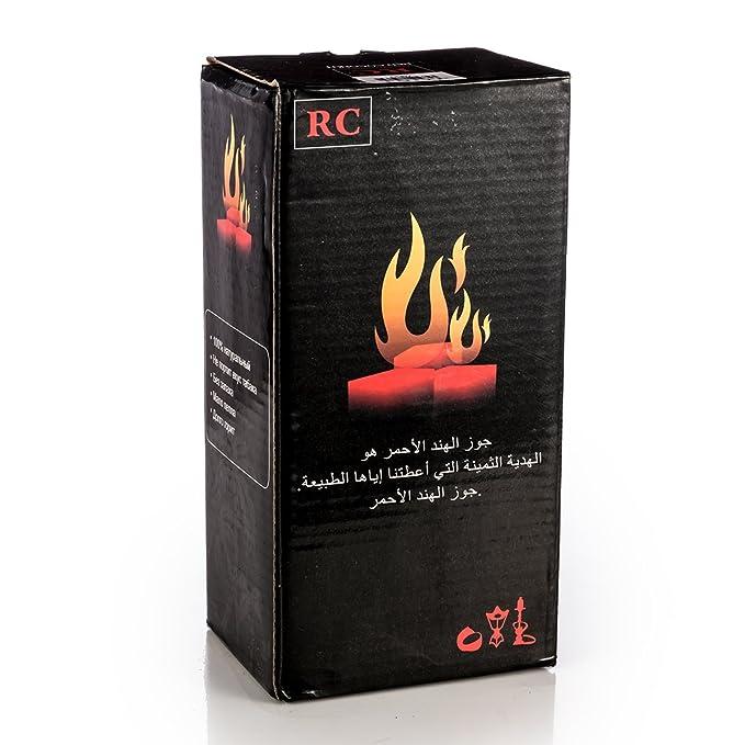DXP 96 Dados Shisha carbón rápida lzün dend cuencos de coco para cachimba y BBQ: Amazon.es: Jardín