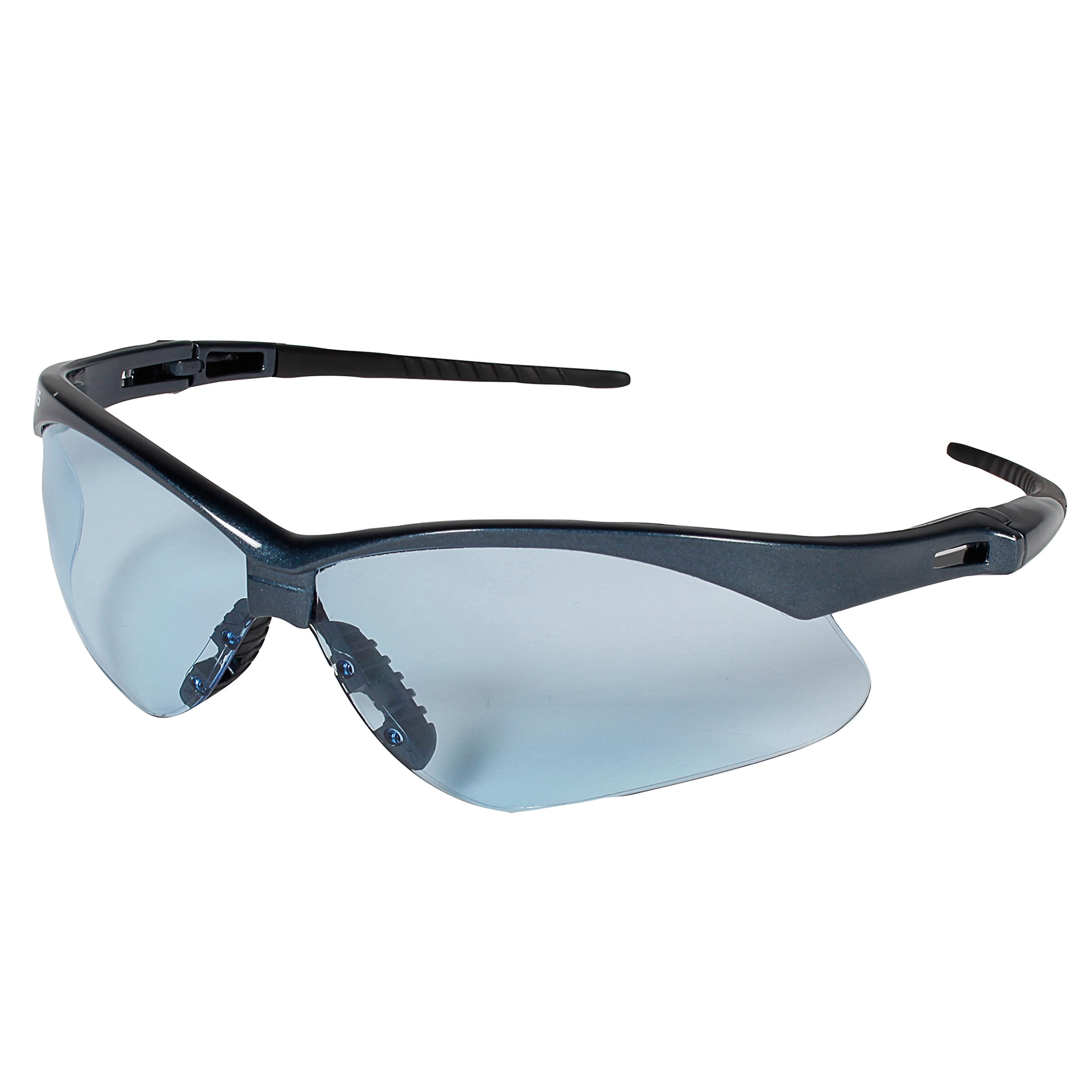 Jackson Safety V30 Nemesis Safety Glasses (19639), Light Blue Lenses with Blue Frame, 12 Pairs / Case by Jackson Safety (Image #5)