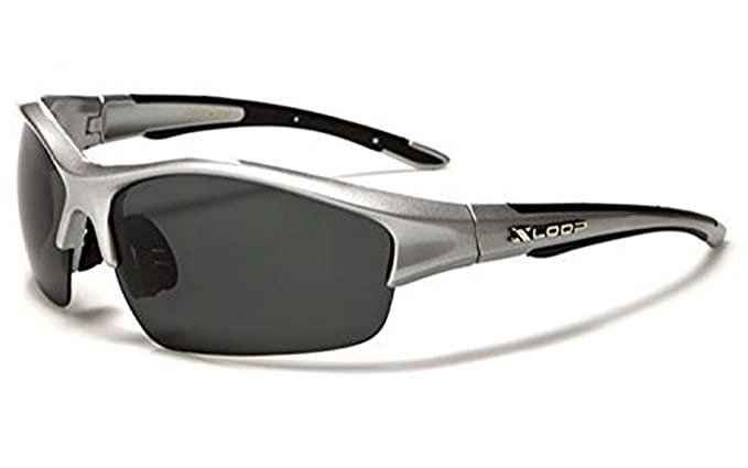 Mens sol polarizadas con borde X-loop œ gafas de sol Sports ...