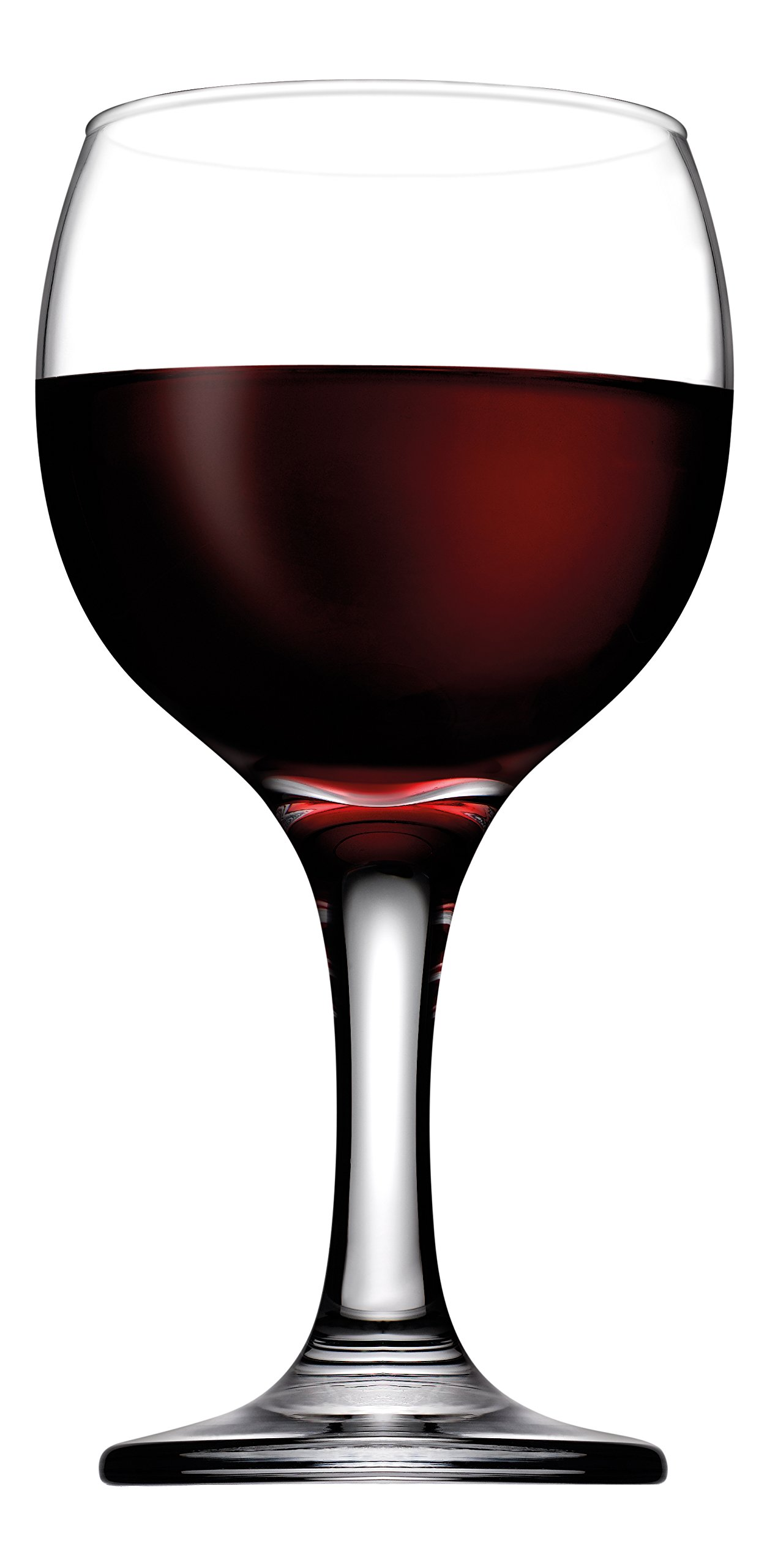 Hospitality Glass Brands 44412-048 Capri 7.5 oz. Bistro Wine (Pack of 48)