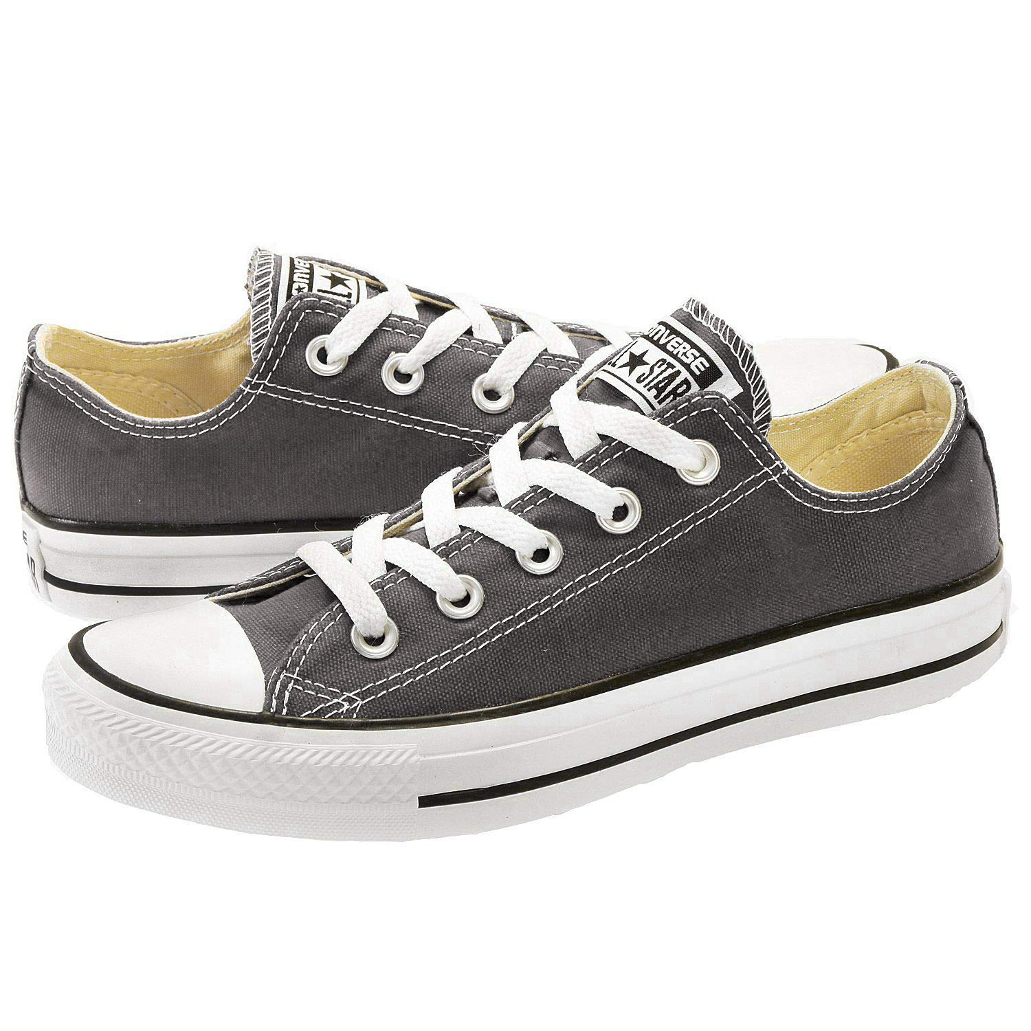 Converse Taylor All Star Ox Black M91, Baskets Basses Mixte Adulte
