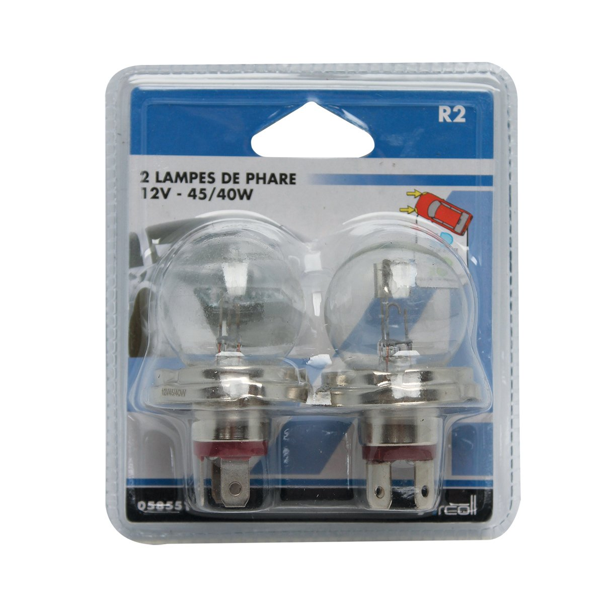 Set 2 Arcoll 58551/Lampe ce-r2/12/V 45//40/W