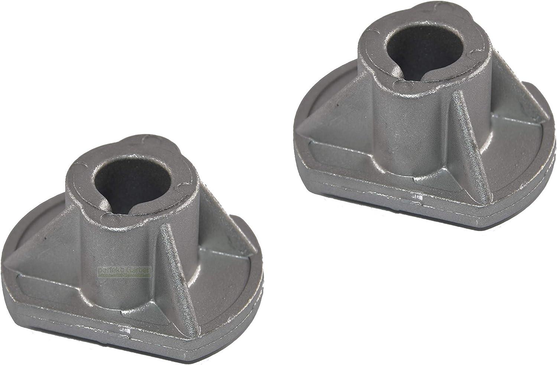 2x Kugellager für Messerturm passend Brill JP92 Hydro Rasentraktor