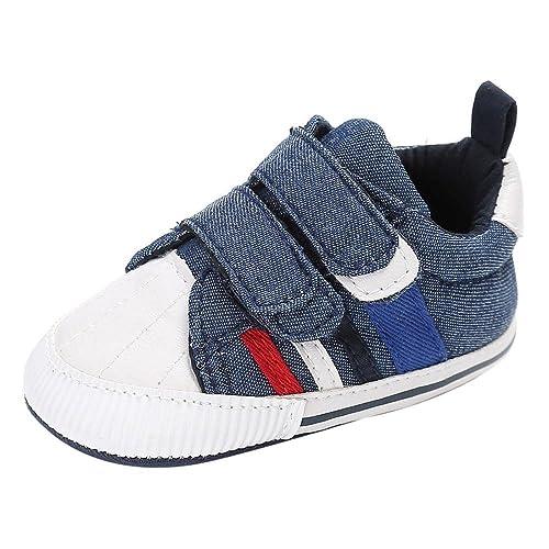 ab4b24301fe8e3 Scarpe Neonato Calzature per Bambini Scarpe da Ginnastica Bambina Suola Morbida  Scarpe Tela Bambina Ragazzi e