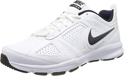 NIKE T-Lite XI, Cross Trainer Mens, Blanco (White/Obsidian/Black/Metallic Silver 101), 44 EU: Amazon.es: Zapatos y complementos