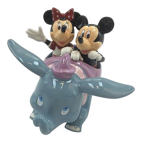 Amazon.com: Disney Parks Mickey Minnie Mouse Dumbo Flying Elephant ...