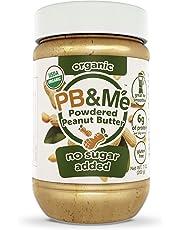 PB&Me Organic Powdered Peanut Butter (No Sugar Added), 200g