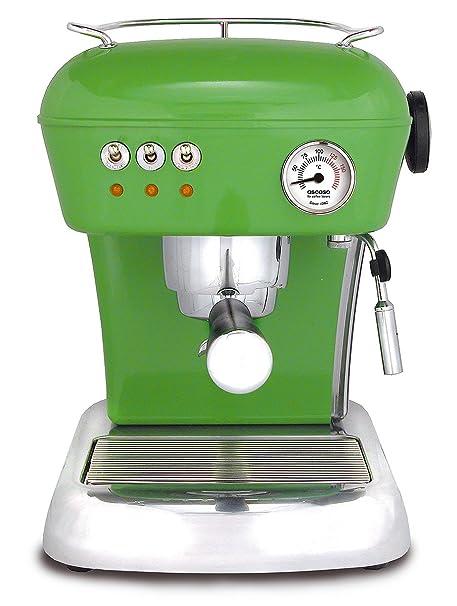 ascaso 600755 Cafetera expreso Dream, Verde: Amazon.es: Hogar