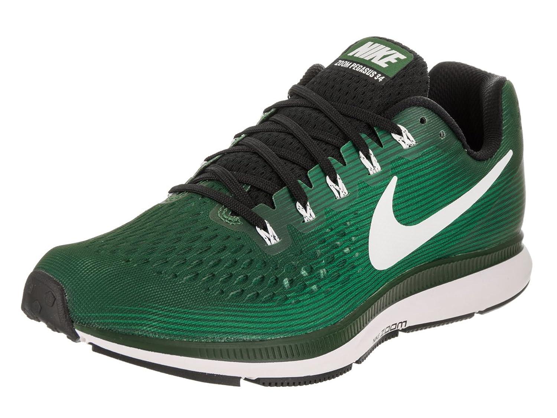 NIKE Men's Air Zoom Pegasus 34 TB Gorge Green/White Black Running Shoe 8.5 Men US B07211PQY7