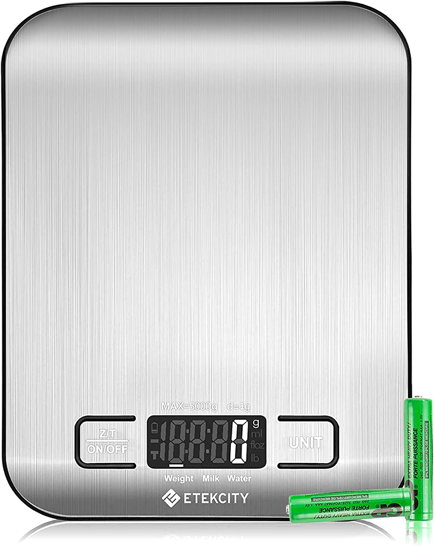 Etekcity Stainless Steel Digital Food Kitchen Scale