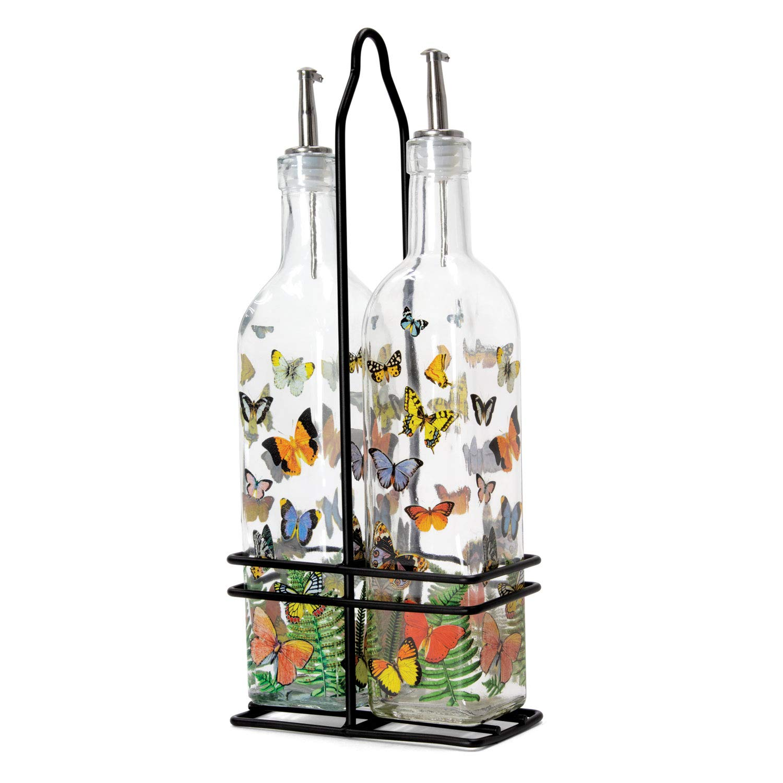 Michel Design Works Oil and Vinegar Cruet Set, Papillon by Michel Design Works