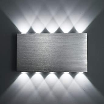 louvra applique murale led 30w interieure lampe decorative moderne creatif eclairage design lumiaire en aluminium pour chambre maison couloir salon
