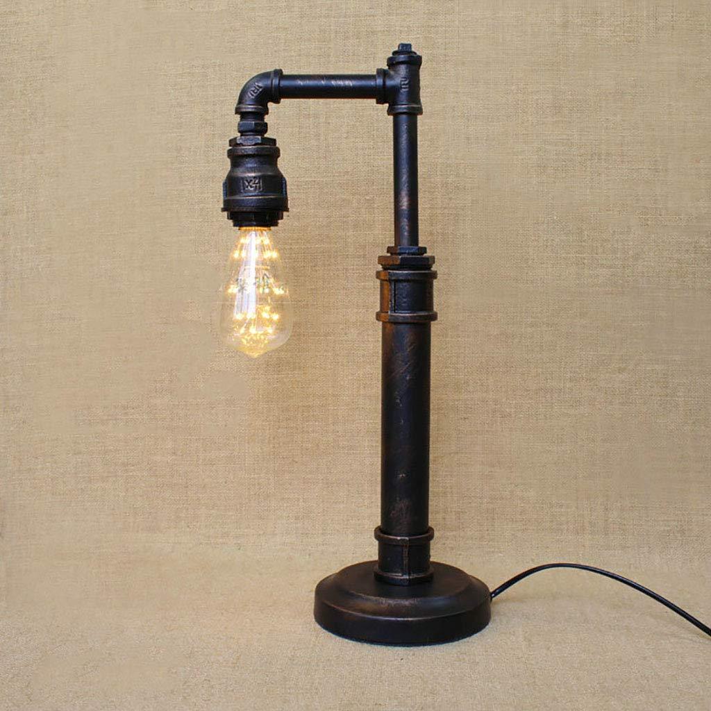 ペンダントライト LOFTヴィンテージ業界ウォーターパイプテーブルランプ鉄バーレストランのベッドルームの装飾照明器具 B07S3QR2YW