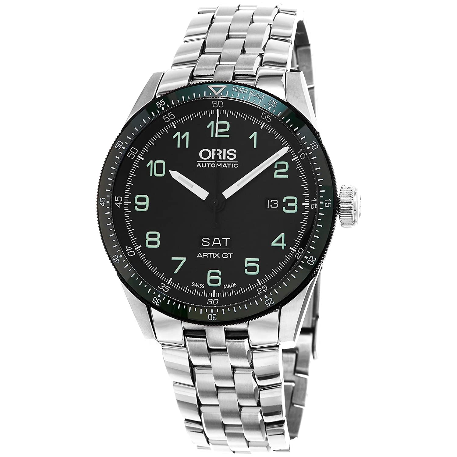[オリス]Oris 腕時計 Artix Analog Display Swiss Automatic Black Watch 73577064494SET メンズ [並行輸入品] B01AX307QU