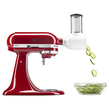 KitchenAid KSMVSA Fresh Prep Slicer/Shredder Attachment, 1, White
