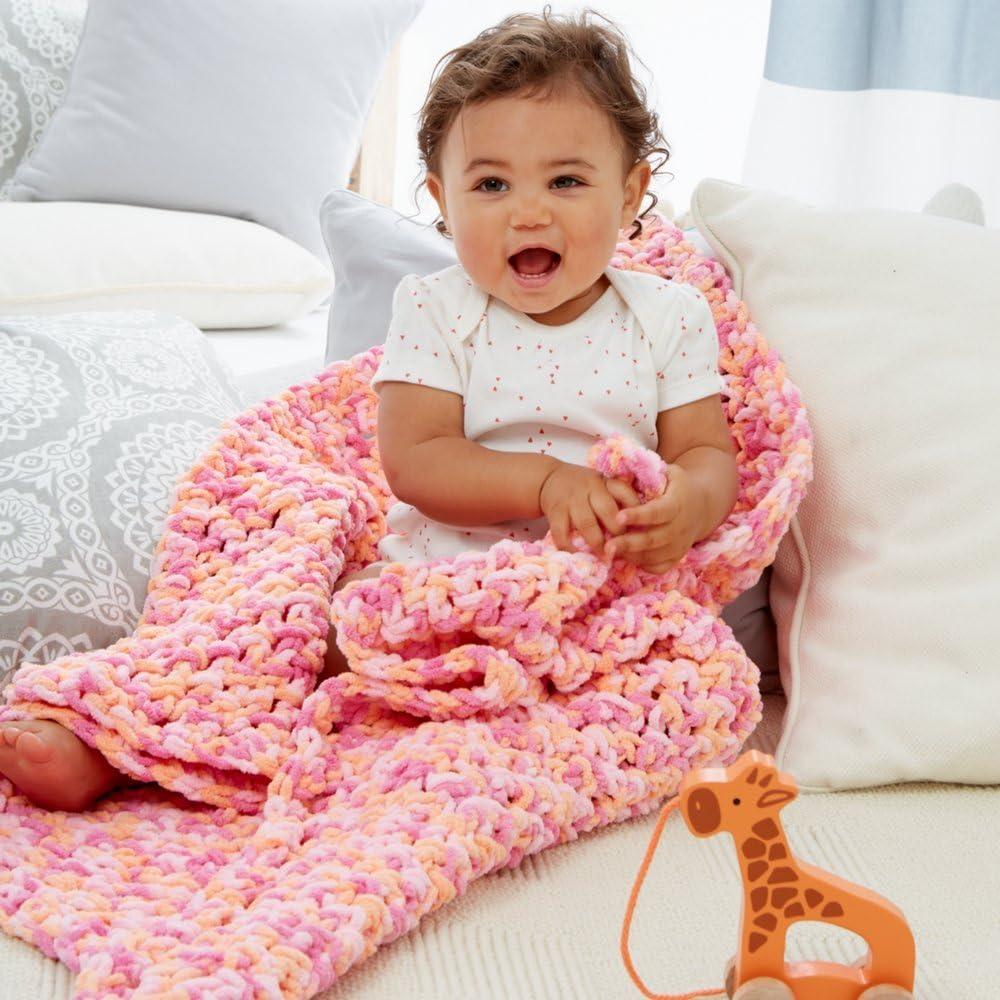 Bernat Baby Blanket Big Ball Vanilla