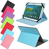 Universal Slim Tasche für verschiedene Tablet Modelle Schutz Case Hülle Cover (9 / 10 Zoll, Hellblau / Türkis)