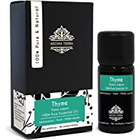 Thyme Essential Oil - Aroma Tierra - Pure, Natural - 10ml