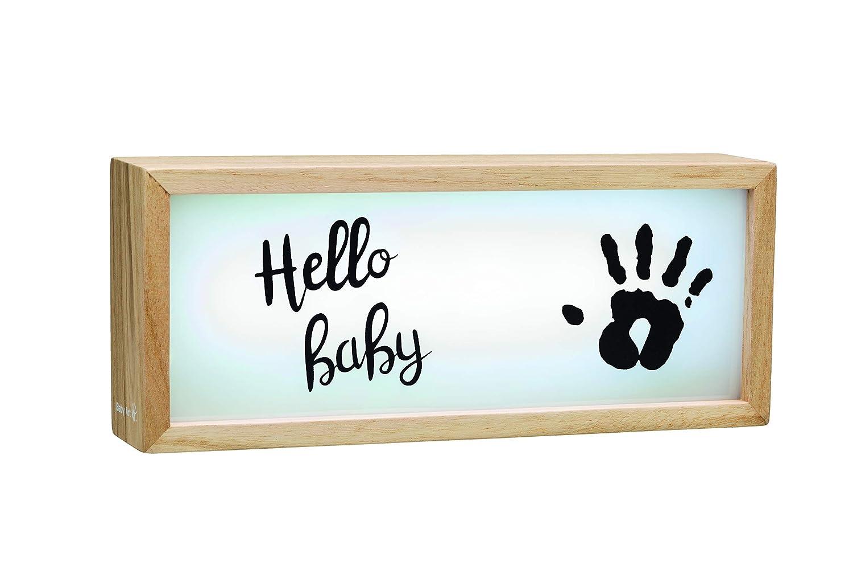 sch/öner Leuchtkasten aus Holz mit Abdr/ücken zum Selbermachen Baby Art 3601093400 Lightbox mehrfarbig