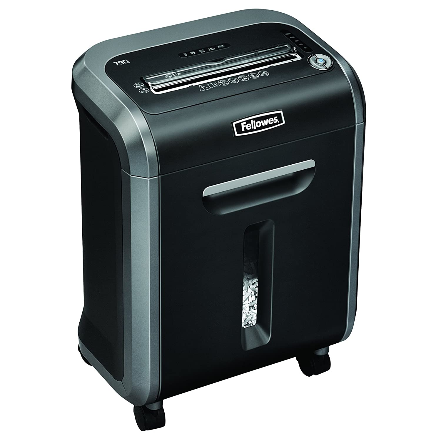 Fellowes Ci Destructora trituradora de papel hojas color negro