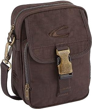 camel active Umhängetasche klein; B00 Journey Messenger Bag, 22 cm, Brown (Braun)