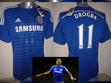 best loved 1d6a9 24539 adidas Chelsea DIDIER DROGBA Large BNWT Jersey Shirt Soccer ...