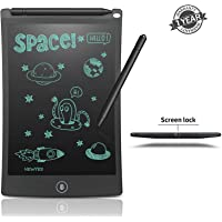 Mossto LCD Writing Screen Tablet Drawing Board for Kids/Adults, 8.5 Inch(Black)