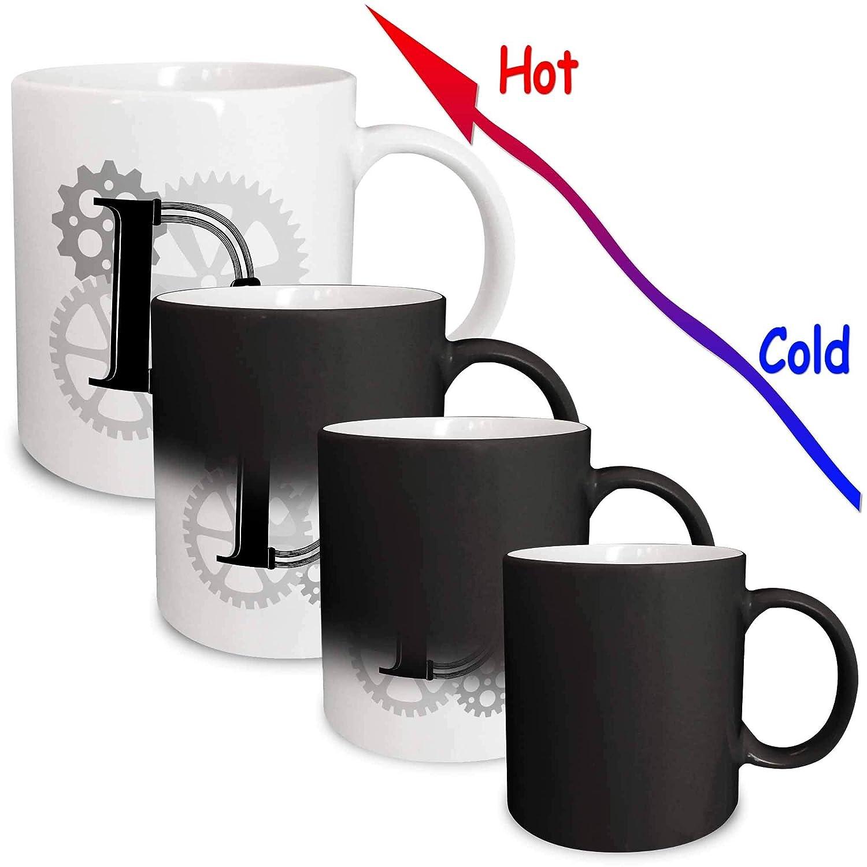 3dRose 298688/_3 Mug 11oz Black//White