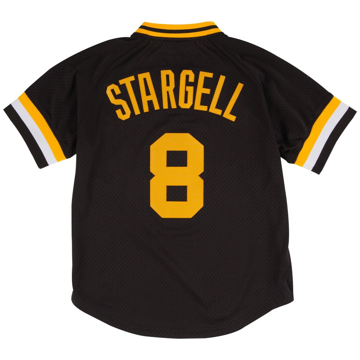 low priced 5cd30 4ab52 Mitchell & Ness Willie Stargell Black Pittsburgh Pirates Authentic Mesh  Batting Practice Jersey