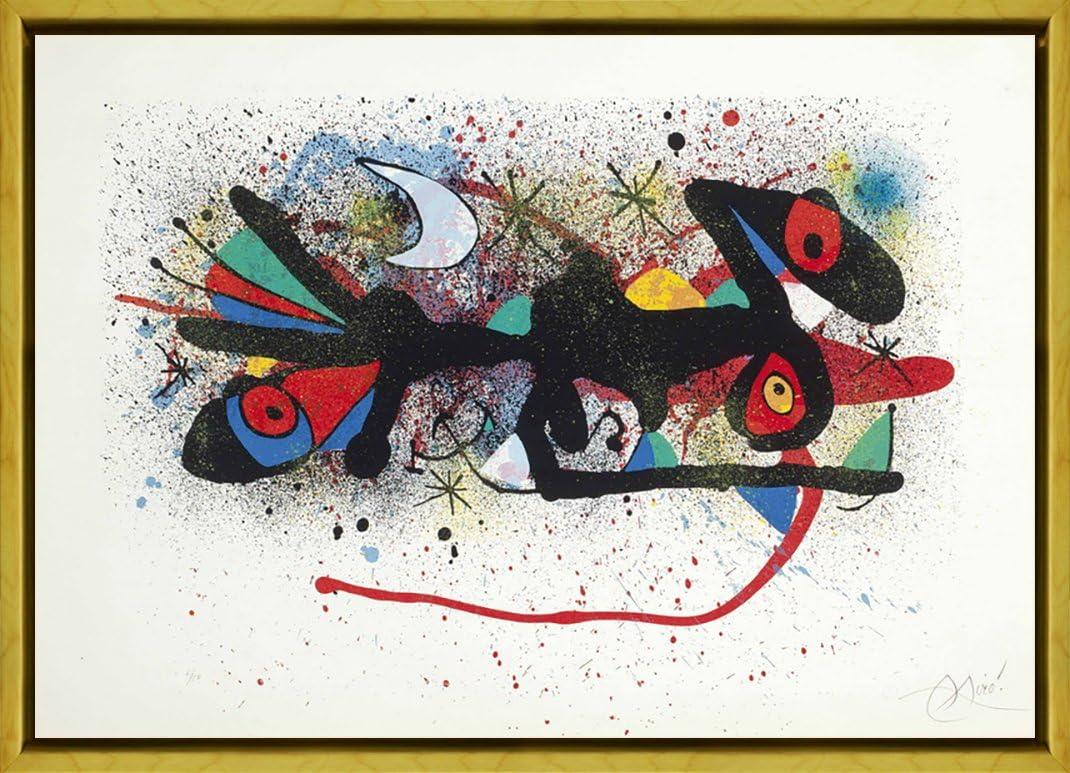 cap I Cua Berkin Arts Joan Miro Gicl/ée Tela Stampa La Pittura Poster Riproduzione
