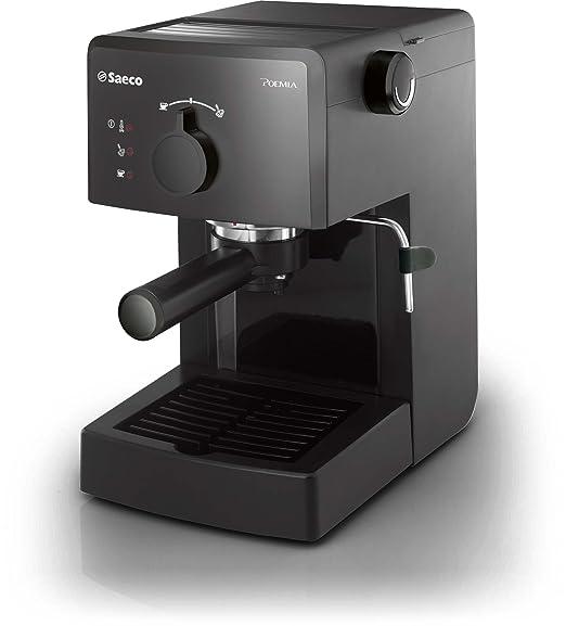 Saeco HD8423/71 - Cafetera de cápsulas, potencia de 950 W, color negro