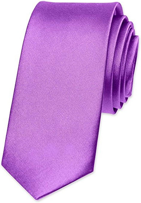 OM3 - Corbata - para hombre Morado violeta orquídea Talla única ...