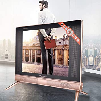 logozoe TV LCD de 17 Pulgadas, TV de Cine en casa de Alta definición portátil(European Standard 220V): Amazon.es: Electrónica
